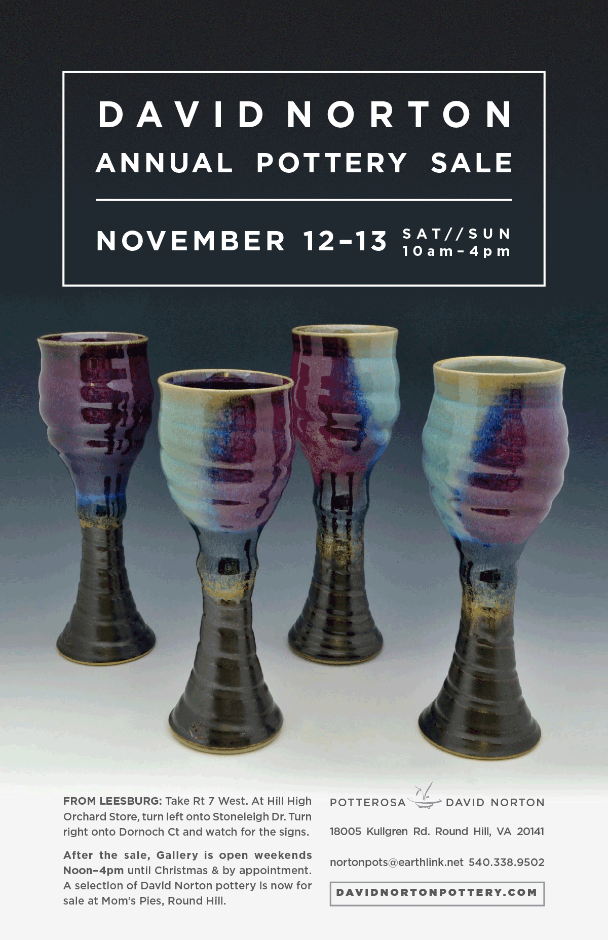 Annual Potter Sale Poster